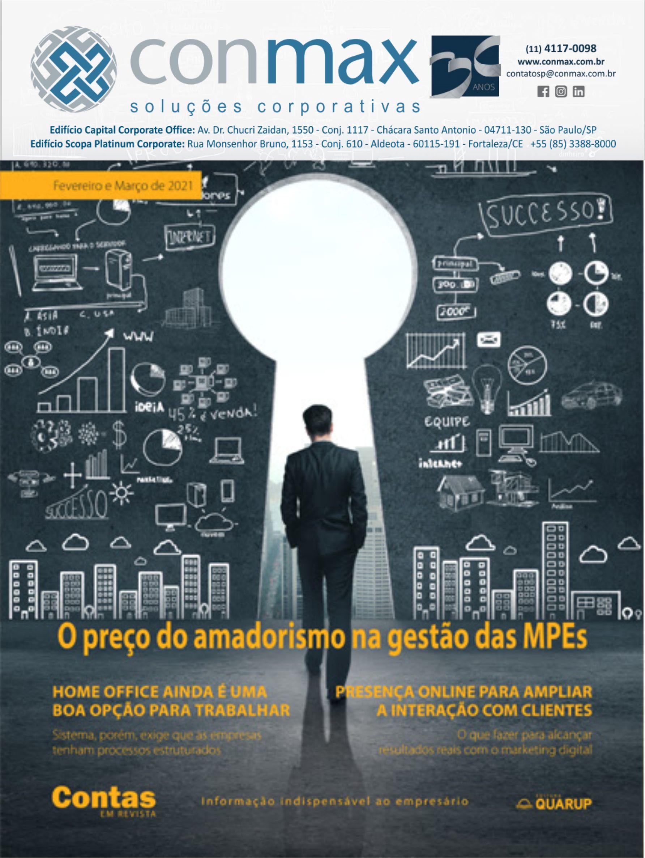 Capa #002 Revista Conmax FevMar.2021