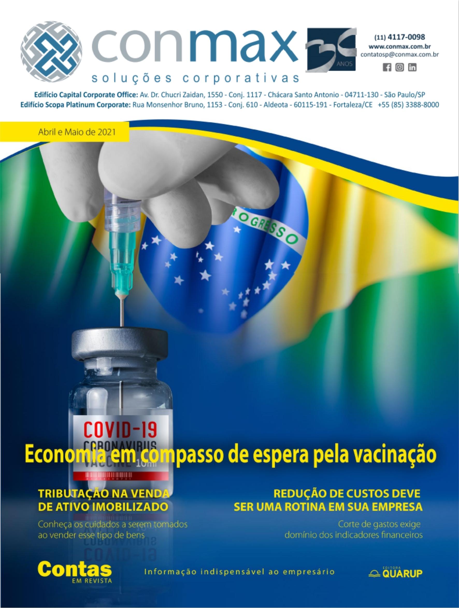 Capa #003 Revista Conmax Abr-Mai.2021