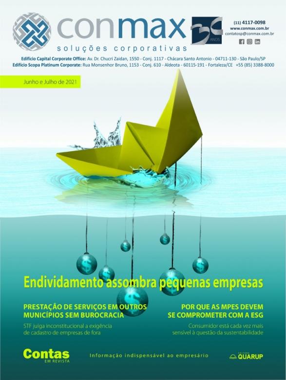 Capa #004 Revista Conmax Jun-Jul.2021