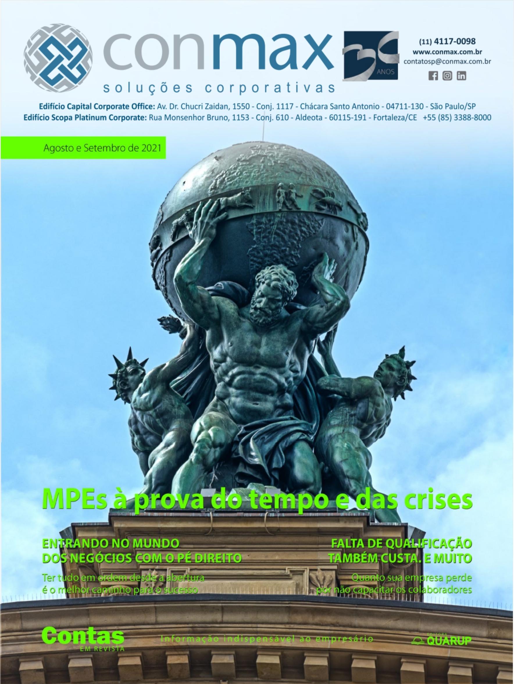 Capa #005 Revista Conmax Ago-Set.2021