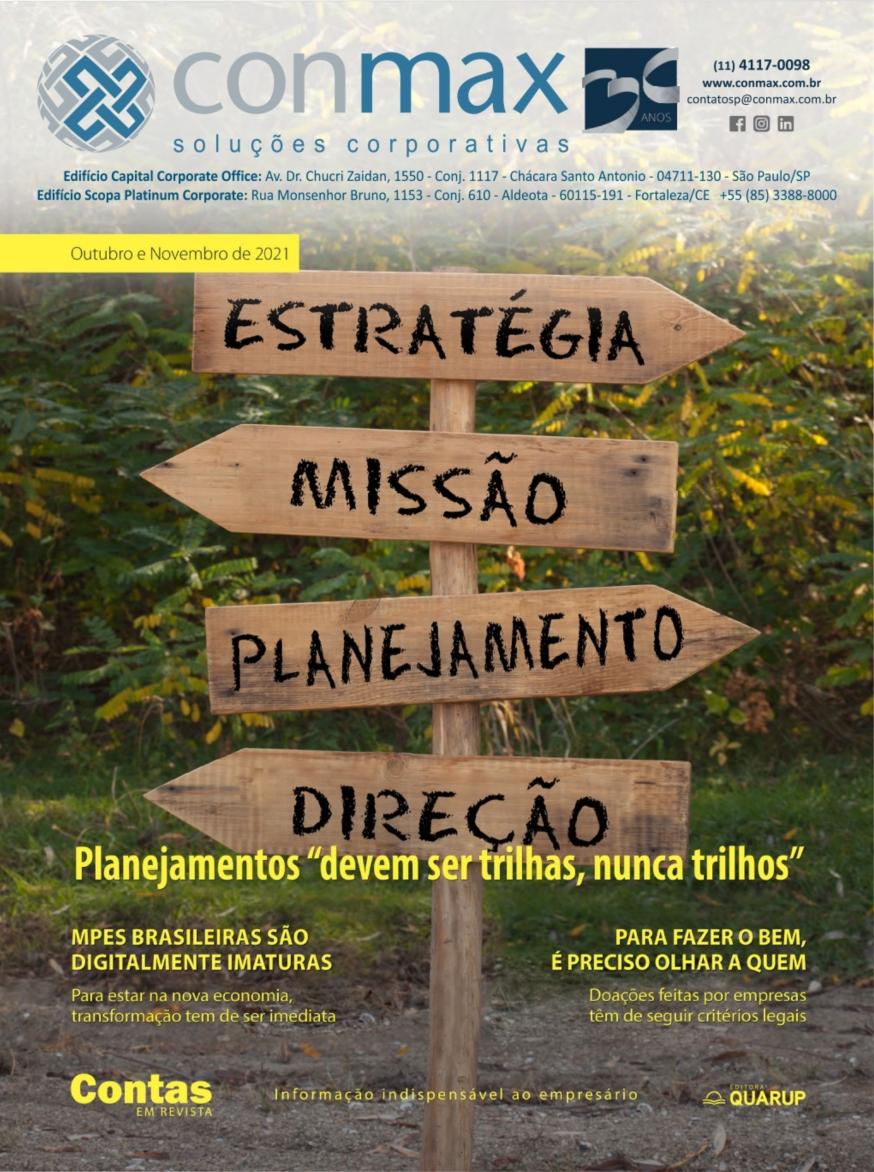 Capa #006 Revista Conmax Out-Nov.2021